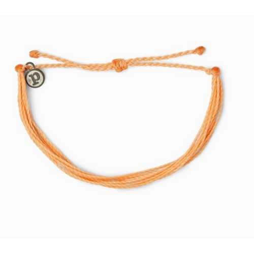 Women's Pura Vida Solid Original Peach Bracelet