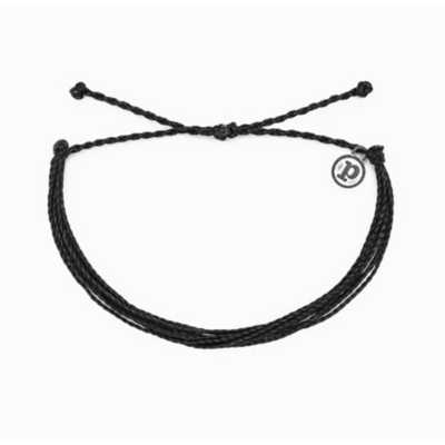 Women's Pura Vida Black Solid Original Bracelet