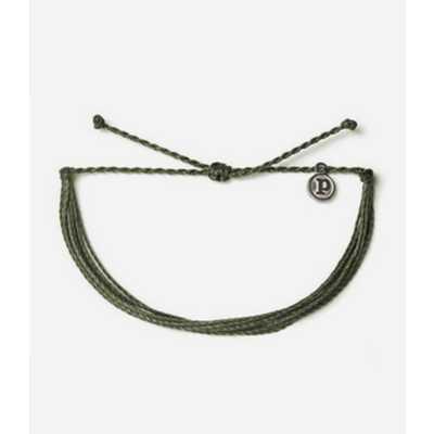 Women's Pura Vida Sage Green Solid Original Bracelet