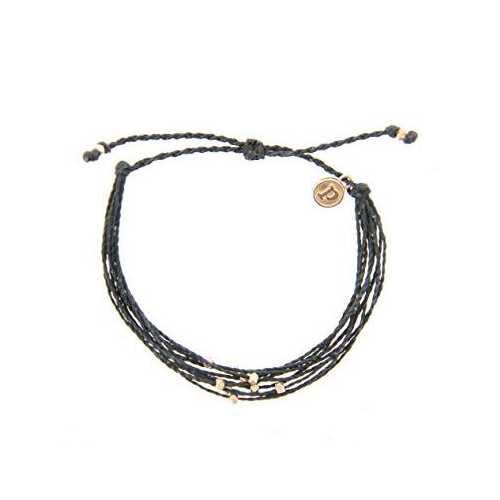 Women's Pura Vida Rose Gold/Black Classic Bracelet
