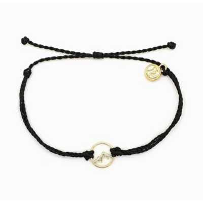 Women's Pura Vida Sierra Moutain Charm Necklace