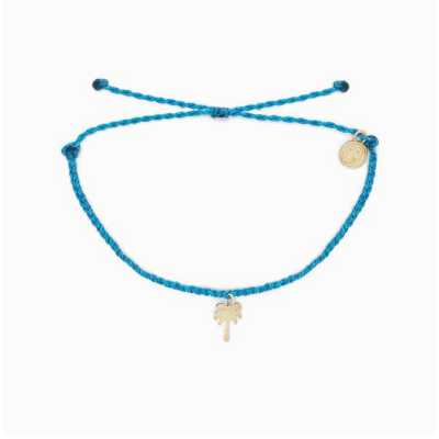 Women's Pura Vida Palm Tree Charm Bracelet