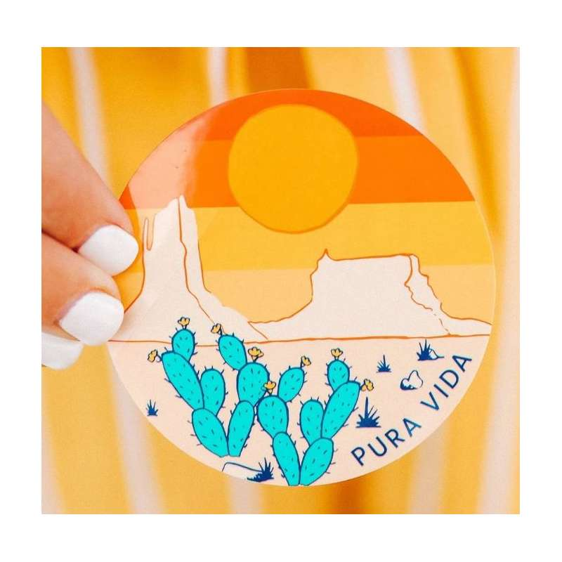 Pura Vida Bracelets Desert Sticker
