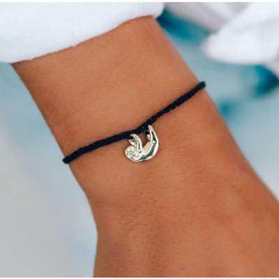 Women's Pura Vida Sloth Charm Bracelet