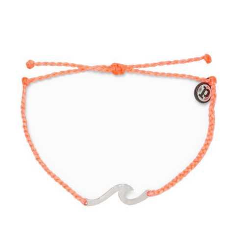 Women's Pura Vida Hammered Wave Bracelet