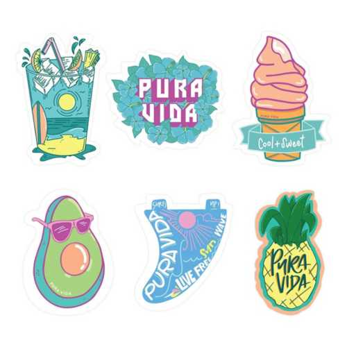 Pura Vida Bracelets Cool & Sweet Sticker Pack