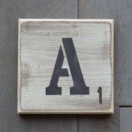 Pine Designs Scrabble Letter Sign