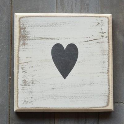 Pine Designs Scrabble Heart Sign