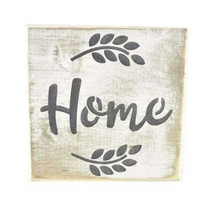 Pine Designs Home Tile Sign