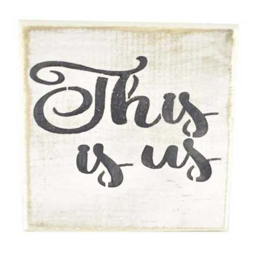 Pine Designs This Is Us Tile Sign