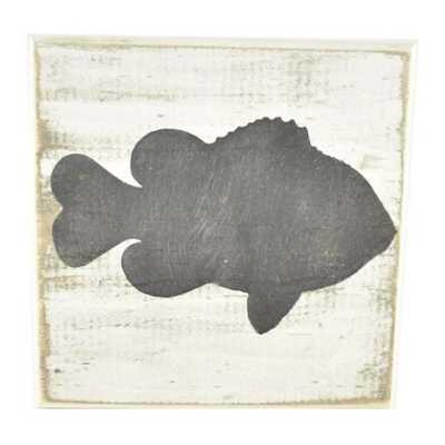 Pine Designs Fish Tile Sign