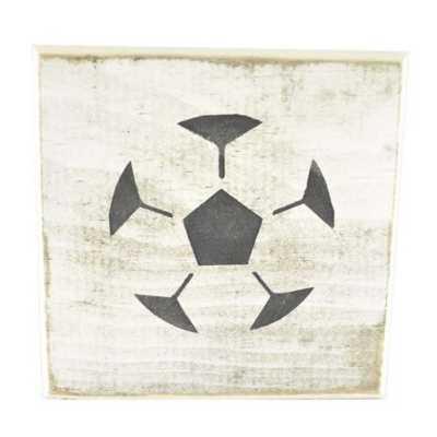 Pine Designs Soccer Tile Sign