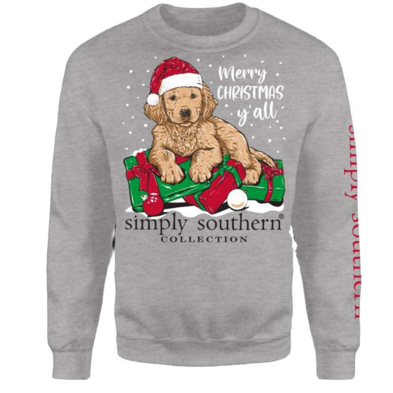 Women's Simply Southern Merry Yall Crew