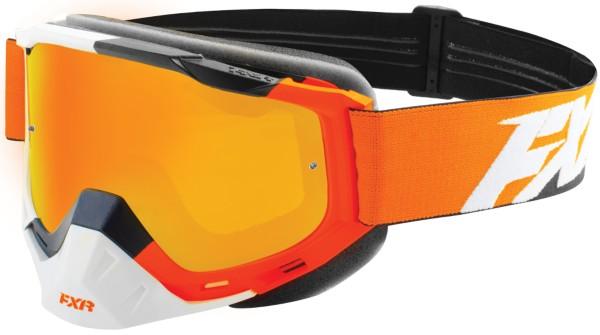 Orange/Black/White (Smoke Lens with Solstice Finish)