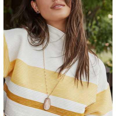Women's Kendra Scott Reid Gold Long Pendant Necklace