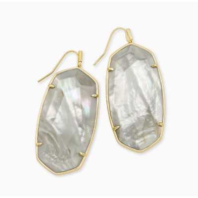 Women's Kendra Scott Danielle Grey Illusion Earrings