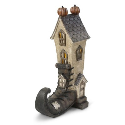 K & K Interiors LED Witch Boot House