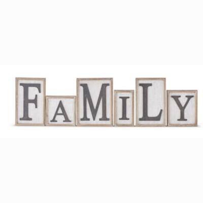 K & K Interiors Brick Family Framed Wood