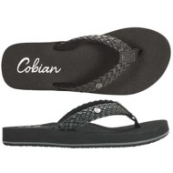 Womens Cobian Braided Bounce Flip Flops