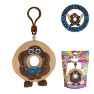 Whiffer Squishers Freddy Frosted Chocolate Donut Scented Backpack Clip