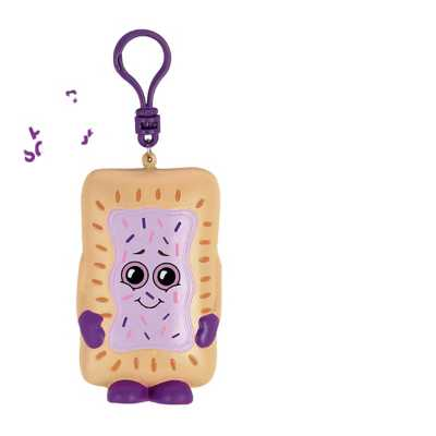 Whiffer Squishers Ben Toasted  Grape Toaster Pastry Scented Backpack Clip