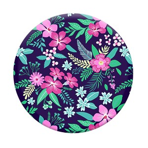 Pop Socket Floral Chill