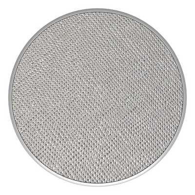 Pop Socket Saffiano Silver