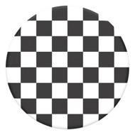 Pop Socket Checker Black