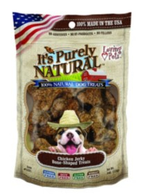 Loving Pets It's Purely Natural Dog Treats