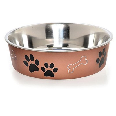 Loving Pets Copper Bella Bowl' data-lgimg='{