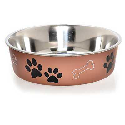 Loving Pets Copper Bella Bowl