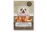 Nature's Choice Sweet Potato Biscuit Wrapped with Chicken Dog Treat