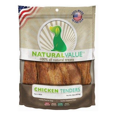 Natural Value Chicken Tenders Dog Treat