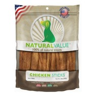 Natural Value Chicken Sticks Dog Treat