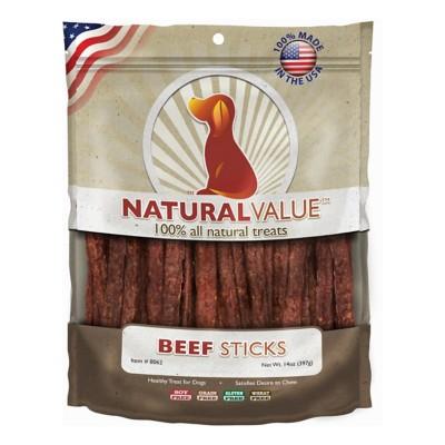 Natural Value Beef Sticks Dog Treat