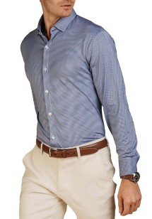 Men's Mizzen and Main Beckett Long Sleeve Shirt