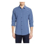 Men's Mizzen and Main Whitten Plaid Long Sleeve Shirt