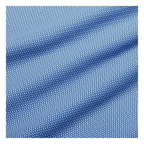Blue/Navy Mini Square Print