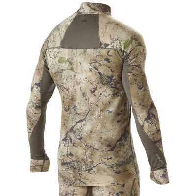 Men's Pnuma Merino Base Layer 1/4 Zip Pullover