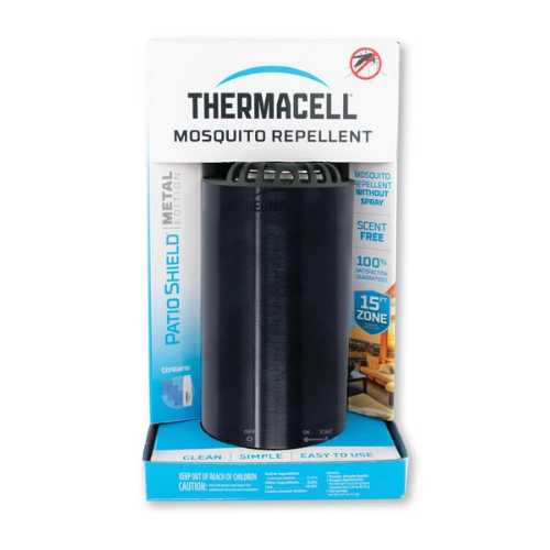 Thermacell Patio Sheild Mosquito Repellent Metal Edition