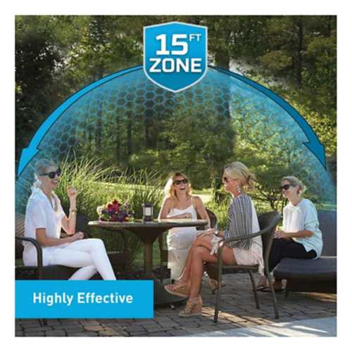 Thermacell Cambridge Mosquito Repellent Patio Sheild