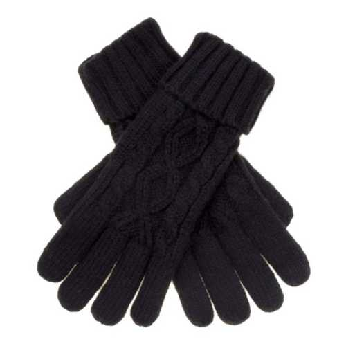 Women's C.C Cable Knit Gloves