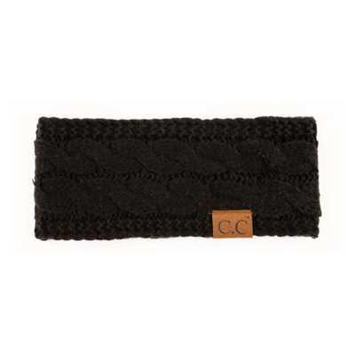 Women's C.C Cable Knit Headband