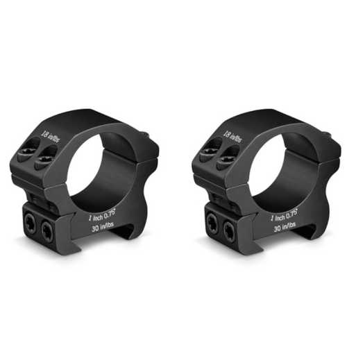 Vortex Pro Series 1 Inch Low Scope Rings