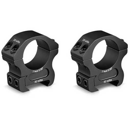 Vortex Pro Series 1 Inch Medium Scope Rings