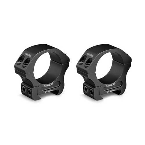 Vortex Pro Series 30mm Low Rifle Rings