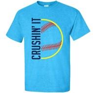 Youth Girls' ImageSport Softball Crushin' It T-Shirt