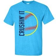 Women's ImageSport Softball Crushin' It T-Shirt