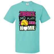 Women's ImageSport Softball No Plate Like Home T-Shirt