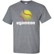 Women's ImageSport Softball Game On T-Shirt
